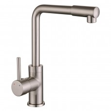 IMPRESE LOTTA смеситель для кухни, высокий нос, сатин, 35 мм 55400
