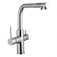 IMPRESE DAICY смеситель для кухни однорычажный с подключением питьевой воды. (55009-F)