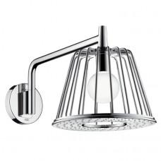 HANSGROHE Axor Lamp Shower Душ верхний с лампой (шлифованный никель) (26031000 (brushed nickel))