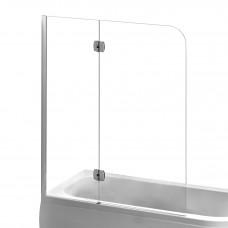 EGER Шторка на ванну 120*150см, левая, профиль хром 599-120CH/L