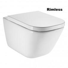 ROCA GAP Rimless унитаз подвесной с сиденьем с системой плавного опускания (в упак.) (A34H47C000)