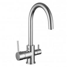 IMPRESE DAICY-U смеситель для кухни с подключением питьевой воды, хром 55009-U