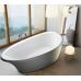 VOLLE Ванна 180*91*68,5см отдельностоящая, акриловая, с сифоном (12-22-189)