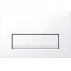 GEBERIT Delta 51 Смывная клавиша, двойной смыв, пластик, белый 115.105.11.1