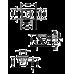 DURAVIT DURASTYLE унитаз подвесной 37*54см, без смывного края, вкл. крепление Durafix (2551090000)