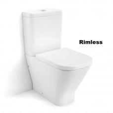 ROCA GAP Rimless унитаз напольный, в комплекте с бачком, с сиденьем  (A34D738000)