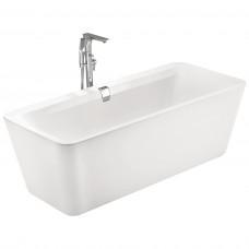 VOLLE Ванна отдельно стоящая 1800*800*620мм, акриловая, слив-перелив, белая (12-22-110C)