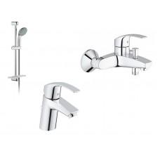 GROHE Eurosmart Набор смесителей для ванны (123238 S)