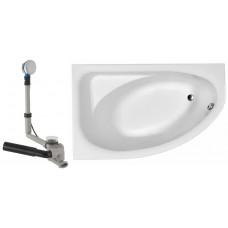 KOLO Украина SPRING ванна асимметричная 170*100 см,левая в комплекте с сифоном Geberit  (XWA307100G)