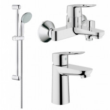 GROHE BauLoop Набор смесителей для ванны  (123214S)