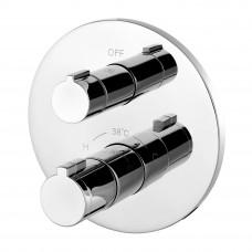 IMPRESE CENTRUM cмеситель для ванны, термостат, скрытый монтаж (1 потребитель), форма R VRB-15400Z