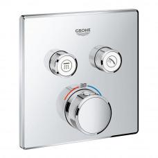 GROHE GROHTHERM SmartControl термостат для душа, внешняя часть, на 2 потребителя (29124000)