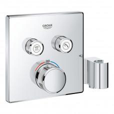 GROHE GROHTHERM SmartControl термостат для душа, внешняя часть, на 2 потребителя, со встроенным держ