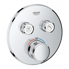 GROHE SMARTCONTROL термостат для душа, внешняя часть, на 2 выхода, хром 29119000