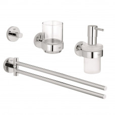 GROHE ESSENTIALS набор аксессуаров 4 в 1 Master Bathroom (40846001)