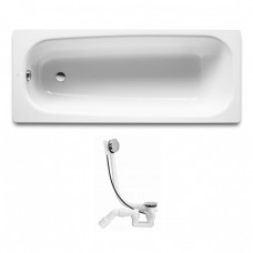 ROCA Комплект: CONTINENTAL ванна 170*70см + VIEGA SIMPLEX сифон для ванны автомат (285357) A21291100