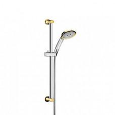 HANSGROHE Raindance Classic 100 Душевой набор, цвет покрытия хром/под золото (27843090)