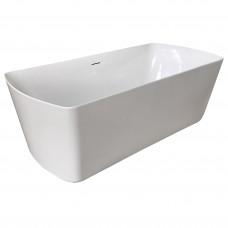 VOLLE Ванна 180*85*61см, отдельностоящая, с сифоном (12-22-804)