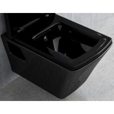 VOLLE TEO black унитаз подвесной ЧЕРНЫЙ без сидения 13-88-412black