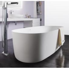 VOLLE Ванна 168*80*53см отдельностоящая каменная Solid surface (12-40-036)