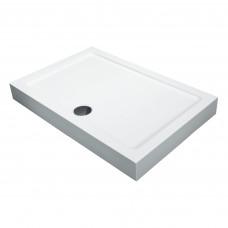 EGER A LANY поддон 80*120*13,5см прямоугольный акриловый, в комплекте с сифоном антизапах 599-550/2