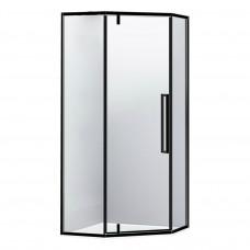 EGER A LANY Душевая кабина пятиугольная, реверсивная 900*900*1950мм (стекла+двери), дверь распашная,