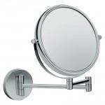 HANSGROHE LOGIS зеркало для бритья, настенное, хром (73561000)