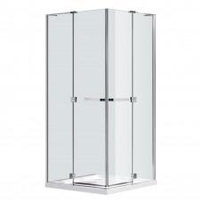 EGER RUBIK душевая кабина 90*90*190см квадратная (стекла + двери), распашные двери, стекло прозрачно