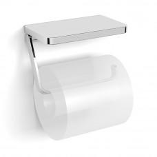 VOLLE TEO держатель-полочка для туалетной бумаги, крепление к стене, хром (15-88-445)
