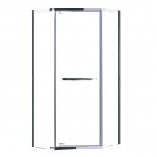 EGER TALANY душевая кабина 90*90*190см (стекла + двери), профиль хром, стекло прозрачное 10мм ВЫПИСЫ