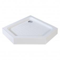 EGER TALANY поддон 90*90*15см пятиугольный, в комплекте с сифоном 599-555/2