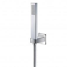 IMPRESE GRAFIKY набор душевой (ручной душ 1 режим, шланг, держатель), хром (ZMK061901100)