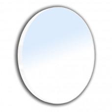 VOLLE Зеркало круглое 60*60см на стальной крашенной раме, белого цвета (16-06-916)
