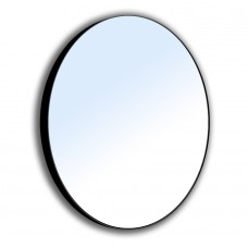 VOLLE Зеркало круглое 60*60см на стальной крашенной раме, черного цвета 16-06-905