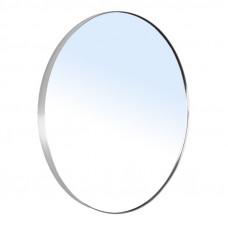 VOLLE Зеркало круглое 60*60см на шлифованной нержавеющей раме,с контурной белой подсветкой 16-06-999