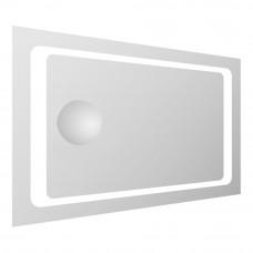 VOLLE Зеркало прямоугольное 55*80см со светодиодной подсветкой и встроенным зеркалом  (16-55-558)