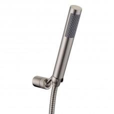 IMPRESE BRENTA набор душевой (ручной душ 1 режим, шланг, держатель), никель (ZMK081906100)