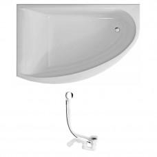 KOLO Украина MIRRA ванна асимметричная 170*110 см, левая, с ножками SN8  *(XWA3371000+285357)