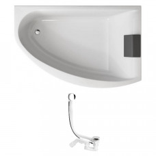 KOLO Украина MIRRA ванна асимметричная 170*110 см, правая, с ножками SN8, (XWA3370001+285357)