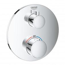 GROHE GROHTHERM термостат для душа с переключателем на 2 положения верхний/ручной душ 24076000