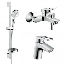 HANSGROHE Logis Loop Набор смесителей для ванны, умывальник 70 (1042019)