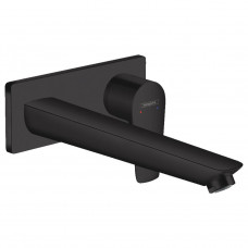 HANSGROHE Talis E Смеситель для раковины, однорычажный, скрытого монтажа, цвет покрытия матовый черн