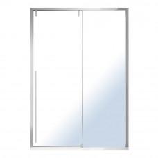 VOLLE AIVA дверь в нишу 120*195см, раздвижная, прозрачное стекло 8мм, хром 10-22-686