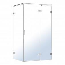 VOLLE NEMO душевая кабина 120*80*195см, правая, распашная, прозрачное стекло 8мм, зеркальный хром 10
