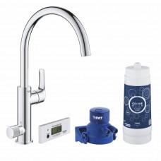 GROHE BLUE Pure Eeurosmart смеситель для кухни с фильтр-краном (30383000)