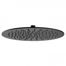 VOLLE Душ верхний 300х4 мм, черный мат (16008105)