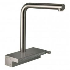 HANSGROHE AQUNO SELECT M81 смеситель для кухни, однорычажный 250, с выдвижным душем, 2jet, sBox, цве