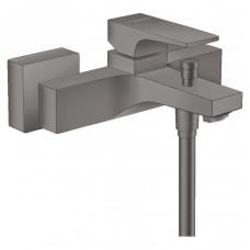 HANSGROHE METROPOL смеситель для ванны, однорычажный, с рычаговой рукояткой, ВМ, шлифованный черный