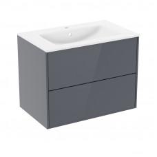 VILLEROY & BOCH Комплект мебели 100см серый: умывальник VILLEROY&BOCH VERITY LINE (B12100G)