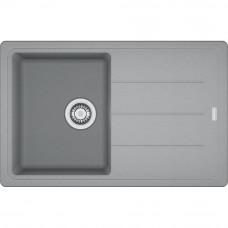 Мойка кухонная Franke Basis BFG 611-78 (114.0565.087) Серый камень, 780х500 мм.